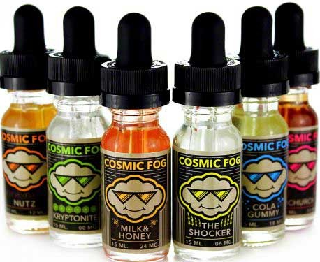 Cosmic Fog and Candy King E-juice Collections Review