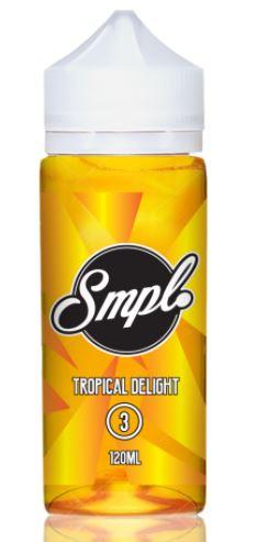 SMPL Juice Tropical Delight Eliquid Review