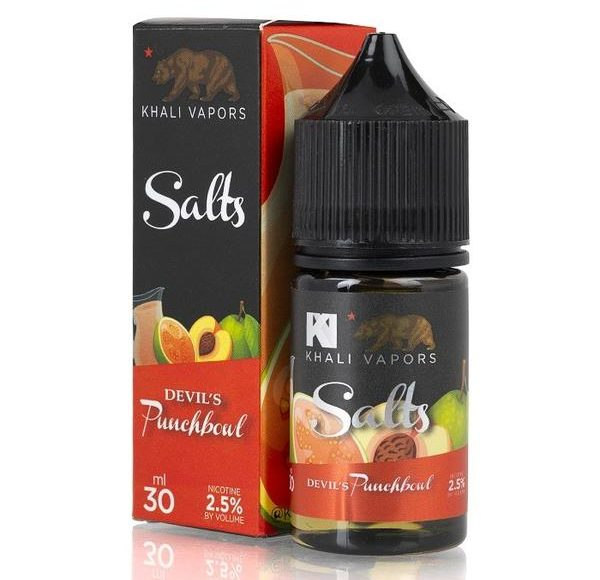Devil's Punchbowl Ice 30ML Ejuice by Khali Vapors Review