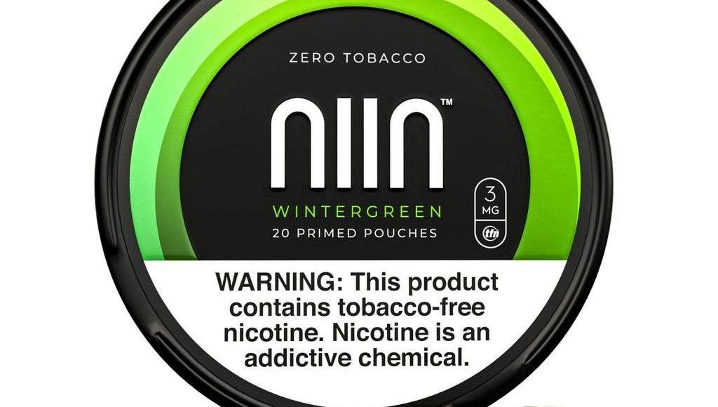 NIIN Zero Tobacco Nicotine Pouches Wintergreen Review