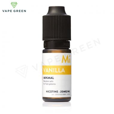 Vanilla Nic Salt E-Liquid by Minimal Review